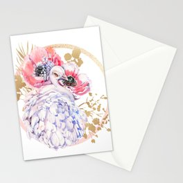 Every Peacock Wants A Lovely Peahen Stationery Cards