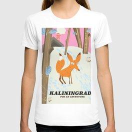 """Kaliningrad """"for an adventure"""" T-shirt"""