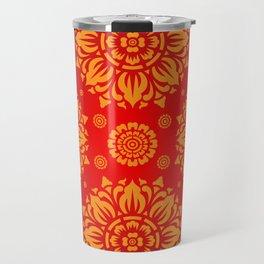 PATTERN ART03 - Red Travel Mug