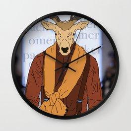 walking proud Wall Clock