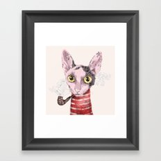 Mr.Rex Framed Art Print