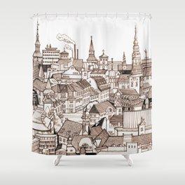 Copenhagen Shower Curtain