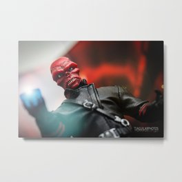 """Quite simply, gentlemen, I have harnessed the power of the gods."" Metal Print"