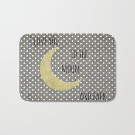 To the Moon Bath Mat