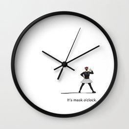 It's Mask O-Clock Wall Clock