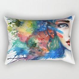 Half Mina Rectangular Pillow