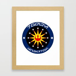Rogue Squadron (Alliance) Framed Art Print