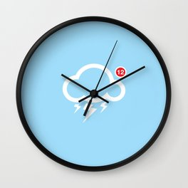 SocialCloud Wall Clock