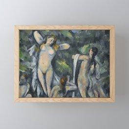 Women Bathing Framed Mini Art Print