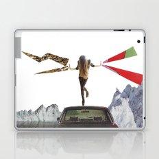 lady lightning Laptop & iPad Skin