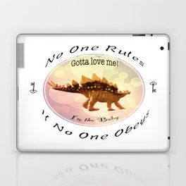 No One Rules If No One Obeys Laptop & iPad Skin