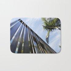 Palm Trees and Chrome Bath Mat