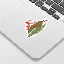 Flowering Gum - Black Sticker