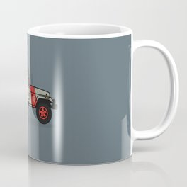 Jurassic Park Jeep Coffee Mug