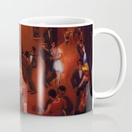 African American Masterpiece 'Stomp - Chicago's Jazz Age' by Archibald Motley Coffee Mug