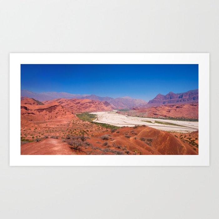 Quebrada de las Conchas - Salta - Argentina Art Print
