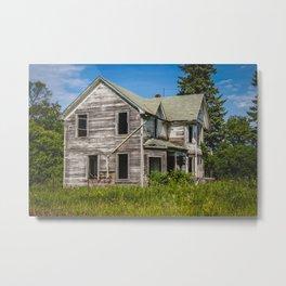 The Sugar Cookie Homestead, North Dakota Metal Print