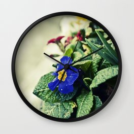 The Flower Pot Wall Clock
