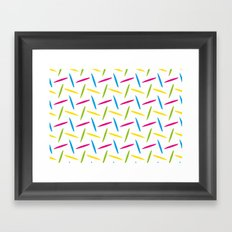 Made In The 80s Framed Art Print