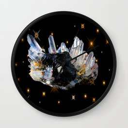 Star Aura Quartz Wall Clock