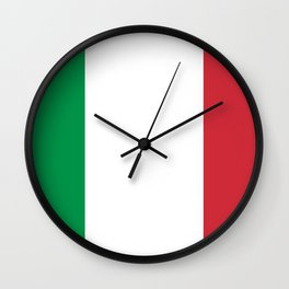 Flag of Italy Wall Clock
