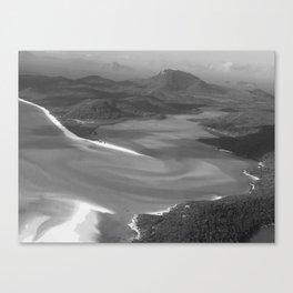 WHITEHAVEN B&W Canvas Print