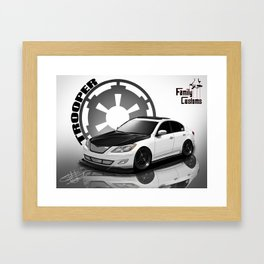 Project Trooper Framed Art Print