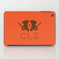 cleveland iPad Cases featuring Cleveland Football by John Trivelli