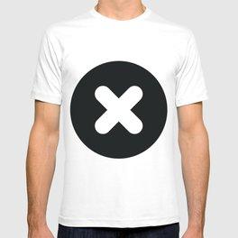 croix et rond T-shirt