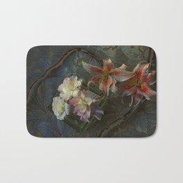The Begonia Brocade Bath Mat