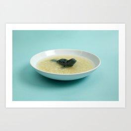Sea lion soup Art Print