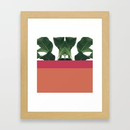 Color Tree Trio Framed Art Print
