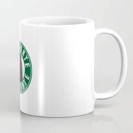 Dalek Caffinate Starbucks Logo Coffee Mug