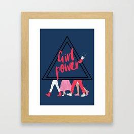 GRLPWR Framed Art Print