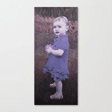 Little Eve (slate) Canvas Print