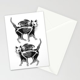 Devil Kitty Stationery Cards