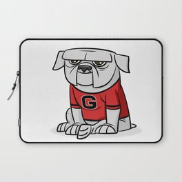Bulldog from Georgia Laptop Sleeve