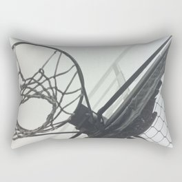 Basketball Hoop Rectangular Pillow