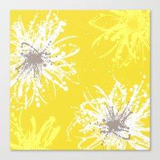 Sunflower Sprinkle Canvas Print