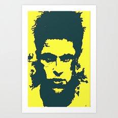iphone case - yellow Art Print