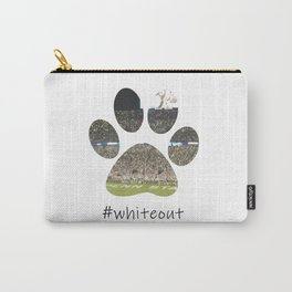 #whiteout Carry-All Pouch