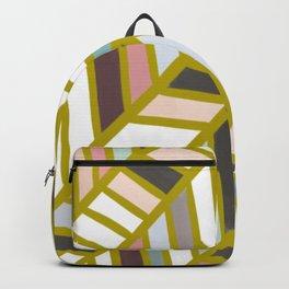 Washi Tape Chevron Pattern Backpack