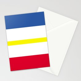 Mecklenburg Western Pomerania region flag germany province Stationery Cards