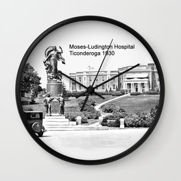 Moses-Ludington Hospital 1930 Wall Clock