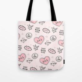 anti-valentines Tote Bag