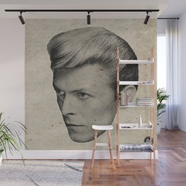 profile moire Wall Mural
