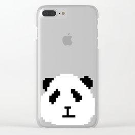 Pixel Panda Clear iPhone Case