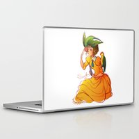 jane eyre Laptop & iPad Skins featuring Jane by Samanthadoodles