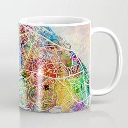 Edinburgh Street Map Coffee Mug
