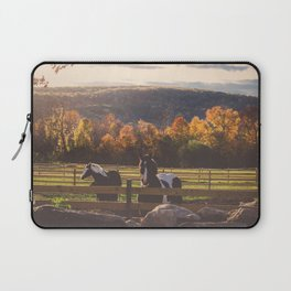 New England Fall Drive Laptop Sleeve